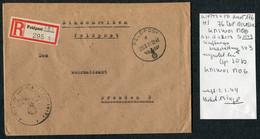 1943 (Dec 21) Registered Einschreiben Feldpost Cover Feldpostamt 176, 76th Infantry Division - Covers & Documents