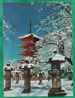 Tokyo Senso-Ji Scenery Of Ueno Five-storied Pagoda In Winter 2scans - Tokio