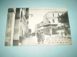 1907 Absinthe Premier Fils à Romans, Drôme Sur Mairie De Philippeville, Cachet Philippeville Oran Sur Semeuse 10c Lignée - Reclame