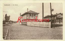 Londerzeel De Statie (In Zeer Goede Staat) ZELDZAAM Station Weststatie Gare CPA - Londerzeel