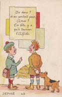 ILLUSTRATEUR CLEM,carte à Systeme Sur Arras 88 - Cartoline Con Meccanismi