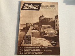 MOTEURS Auto Cycle - Decembre 1951 - Auto/Moto