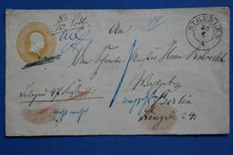 Y5 PRUSSE BELLE LETTRE DEVANT  1875    POUR  BERLIN GERMANY + + AFFRANCH INTERESSANT - Prusse