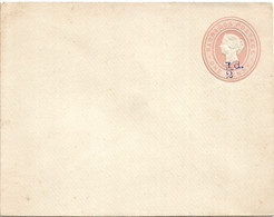 Barbados Mint Stationary Cover Surcharged 1/2 D. - Barbados (1966-...)