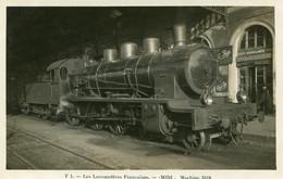 Béziers Locomotive  Midi 3518 Publicité  Pugi - Beziers