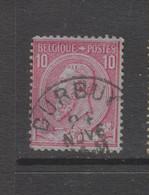 COB 46 Oblitération Centrale DURBUY - 1884-1891 Leopold II