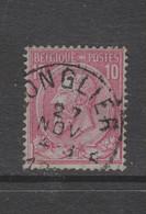 COB 46 Oblitération Centrale Relais étoile LONGLIER - 1884-1891 Leopold II