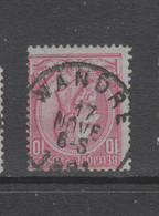 COB 46 Oblitération Centrale WANDRE - 1884-1891 Leopold II