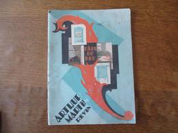 REVIN ARTHUR MARTIN L'ART DU FEU CATALOGUE 1928 36 PAGES EDIF. ATELIER FLOQUET MONTCY - Pubblicitari