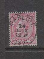 COB 46 Oblitération Centrale MARLOIE - 1884-1891 Leopold II