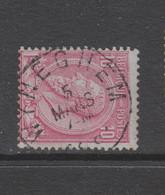 COB 46 Oblitération Centrale WYNEGHEM - 1884-1891 Leopold II