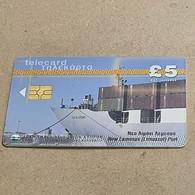 CYPRUS-(1699CY-a)-New Kemesos Port-(191)-(5£)-(10/1999)-(1699CY02151324)-used Card+1card Prepiad Free - Cyprus