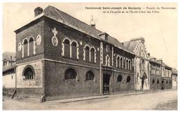 62 Pensionnat St-Joseph De BUCQUOY - Façade Du Pansionnat De La Chapelle Et De L'école Libre Des Filles - Andere Gemeenten