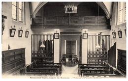 62 Pensionnat St-Joseph De BUCQUOY - Tribune Et Chapelle Publique - Andere Gemeenten