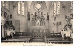 62 Pensionnat St-Joseph De BUCQUOY - Chapelle - Andere Gemeenten