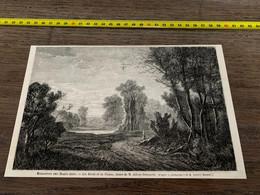 à1865 MI2 Gravure Les Bords De La Vienne Adrien Dubouché - Unclassified