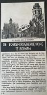 BORNEM..1948.. DE BOERENKRIJGHERDENKING - Unclassified
