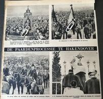 HAKENDOVER..1948.. DE PAARDENPROCESSIE / HET WAS DE 1250 Ste UITGANG / DE MIJNWERKERS IN HUN KLEDIJ - Unclassified