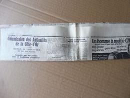 1939 Articles De Presse : Enquête Sur Les Patois Arts Et Traditions Populaires (carmentran, Rondes, Folklore ,carillon - Unclassified