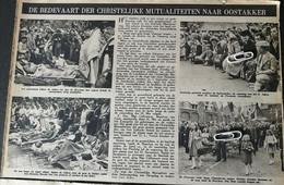 OOSTAKKER..1948.. DE BEDEVAART DER CHRISTELIJKE MUTUALITEITEN NAAR OOSTAKKER - Unclassified