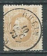 Belgique YT N°33 Léopold II Oblitéré ° - 1869-1883 Leopold II