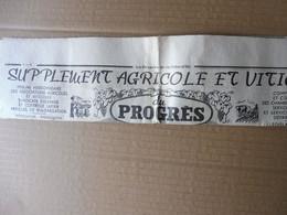 1939 Articles De Presse : Le Pincement Appliqué Aux Arbres Fruitiers; Pub --> Vous êtes Une Femme Pratique Lui Dit .. - Unclassified