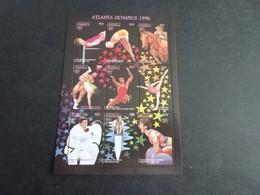 M11584 - Bloc Mint  Hinged Dominica 1996 - Olympics Atlanta - Verano 1996: Atlanta