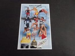 M11587 - Bloc Mint  Hinged Antigua & Barbuda 1996 - Olympics Atlanta - Verano 1996: Atlanta