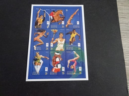 M11593 -Blocs   Mint  Hinged Kenya - 1996 - Olympics Atlanta - Verano 1996: Atlanta