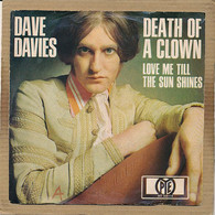 "7"" Single, Dave Davies - Death Of A Clown - Disco, Pop"