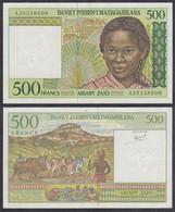 MADAGASKAR - MADAGASCAR 500 Francs (1994) Pick 75 A XF (2)  (28895 - Other - Africa