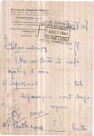 Dépt 77 - FAREMOUTIERS - Ordonnance Du Docteur Arsène FERLY De 1948 - Faremoutiers