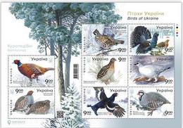 Ukraine 2021 MNH Sheet Birds , Fauna ** New - Ucrania