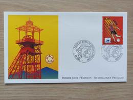 FDC N°3010 : France 98. Coupe Du Monde De Football. Lens - 1990-1999