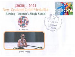 (WW 2) 2020 Tokyo Summer Olympic Games - New Zealand Gold Medal - 30-7-2021 - Women's Rowing - Eté 2020 : Tokyo