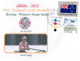 (WW 2) 2020 Tokyo Summer Olympic Games - New Zealand Gold Medal - 30-7-2021 - Women's Rowing - Zomer 2020: Tokio