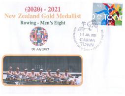 (WW 2) 2020 Tokyo Summer Olympic Games - New Zealand Gold Medal - 30-7-2021 - Men's Rowing - Eté 2020 : Tokyo