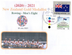 (WW 2) 2020 Tokyo Summer Olympic Games - New Zealand Gold Medal - 30-7-2021 - Men's Rowing - Zomer 2020: Tokio