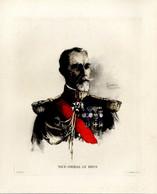 Print 1920 France Fleet French Navy Admiral Amiral  Le Bris - Prints & Engravings