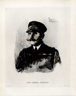 Print 1920 France Fleet French Navy Admiral Amiral Paul-Amable Jéhenne - Prints & Engravings