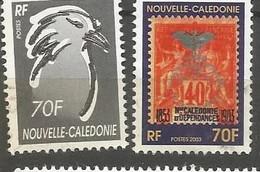 903/904  Centenaire  Du 1er  Cagou         (clasyveroug13) - Usati