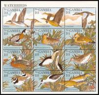 Gambia 1995 Fauna  Waterbirds - Gambia (1965-...)