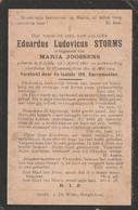 Schilde, Wommelghem, 1904, Eduardus Storms, Joossens - Santini