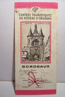 BORDEAUX   - CHEMIN DE FER DE PARIS A ORLEANS - Pubblicitari