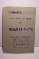CANNES  - MIRAMAR - PHOTO - Germaine TRAVERSO  ( Sur La Croisette ) - Pubblicitari