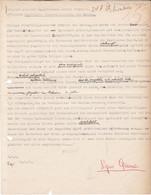 WW2 RSI FASCISMO SAVONA RAPPORTO PERSONALITA' POLITICHE 1945 SIPO - Dokumente