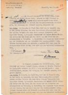 WW2 RSI FASCISMO GENDARMERIE HAUPTMANNSCHFT PIEMONT ZUG VERCELLI BEFRAGUNG 1944 - Dokumente