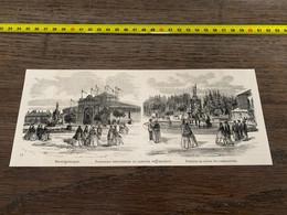 à1865 MI2 Gravure Exposition Industrielle Et Agricole De Chaumont - Unclassified