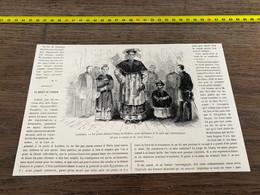 à1865 MI2 Gravure Le Géant Chinois Chang Woo-Gow De Fichow - Unclassified