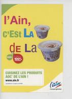 L'AIN (01) Crème De Bresse - L'Ain C'est La Crème De La Crème AOC (poulet) - Reclame